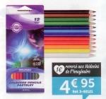 Lots de 12 Crayons de Couleurs GBA-MDI