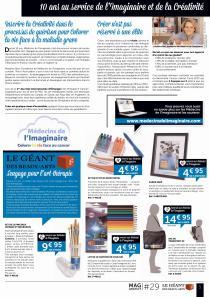 Page partenariat MDI Geant dans Mag P.5